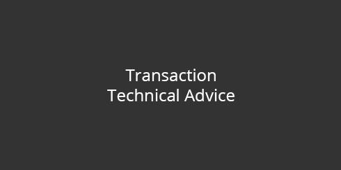Transaction Technical Advice